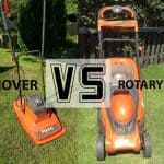 hover mower and rotary mower vs