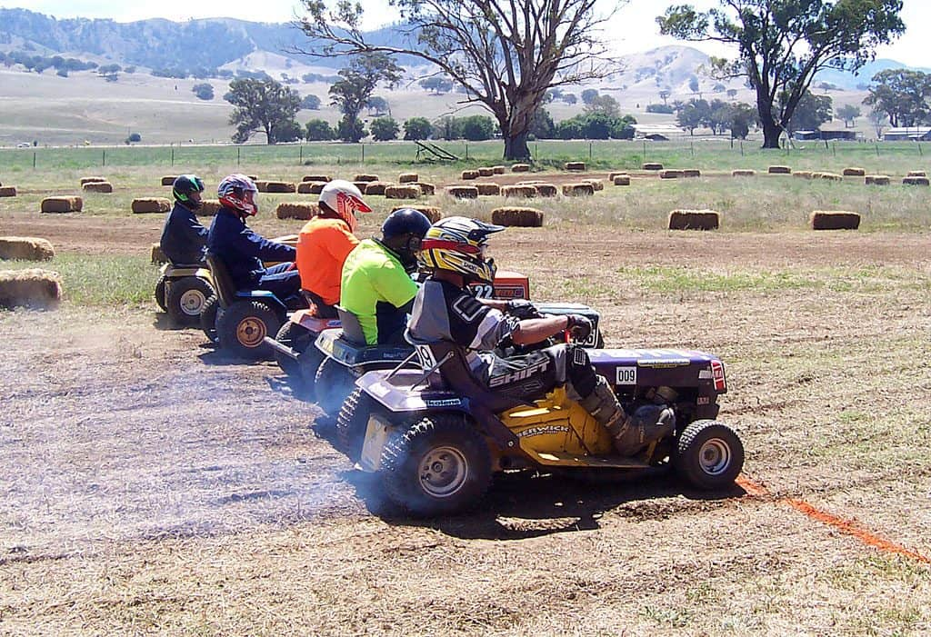 petrol racing mowers