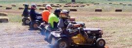 petrol racing mowers